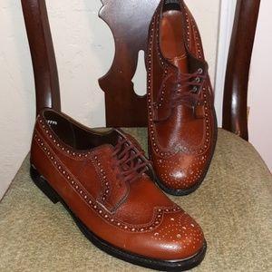 Vintage Old Village Shop Brown NWOT Oxford Shoes
